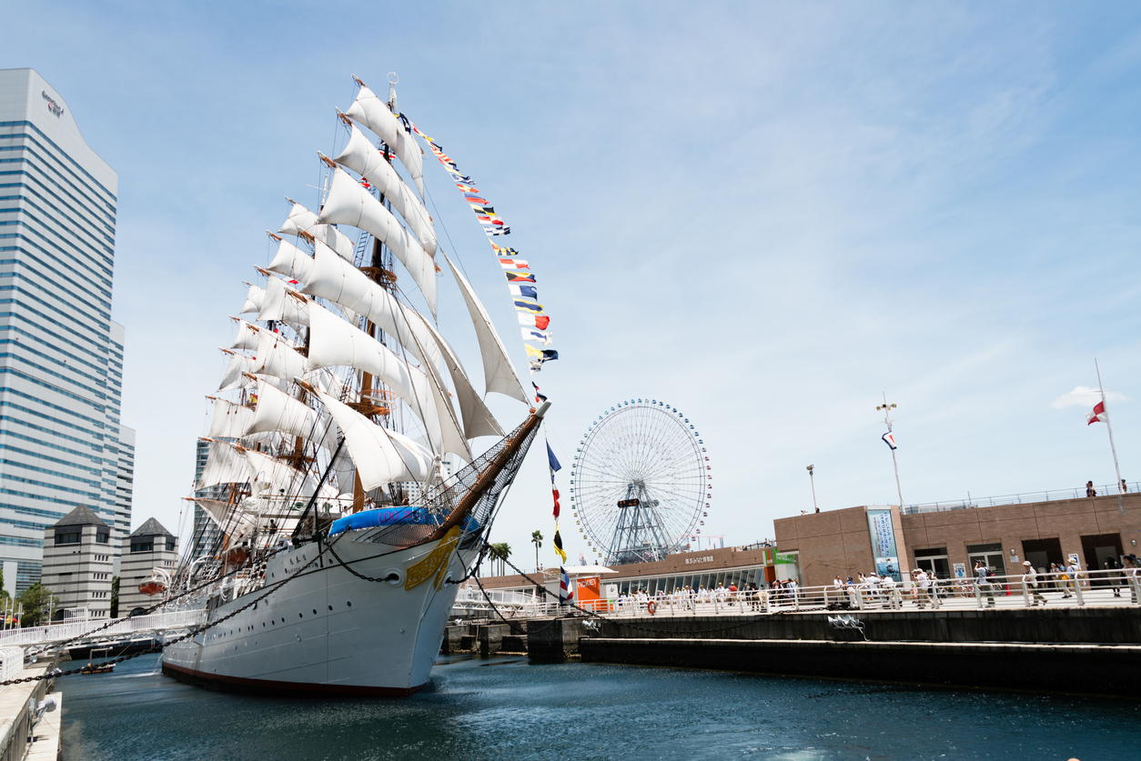 Full Sail Nippon Maru Yokohama Nippon Maru: A Must Add to your Yokohama Itinerary
