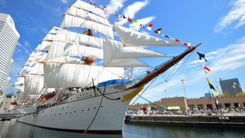 Full Sail Nippon Maru Yokohama Nippon Maru: A Must Add to your Yokohama Itinerary