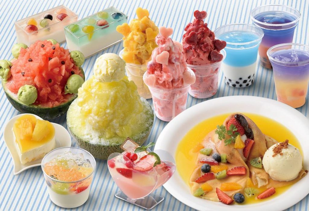 Sweets forest summer sweets
