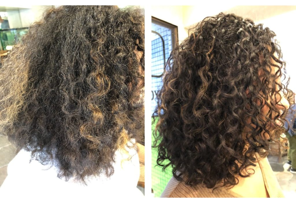 Before and After - Empowering Curly Women With Kiyoko Matsuzawa