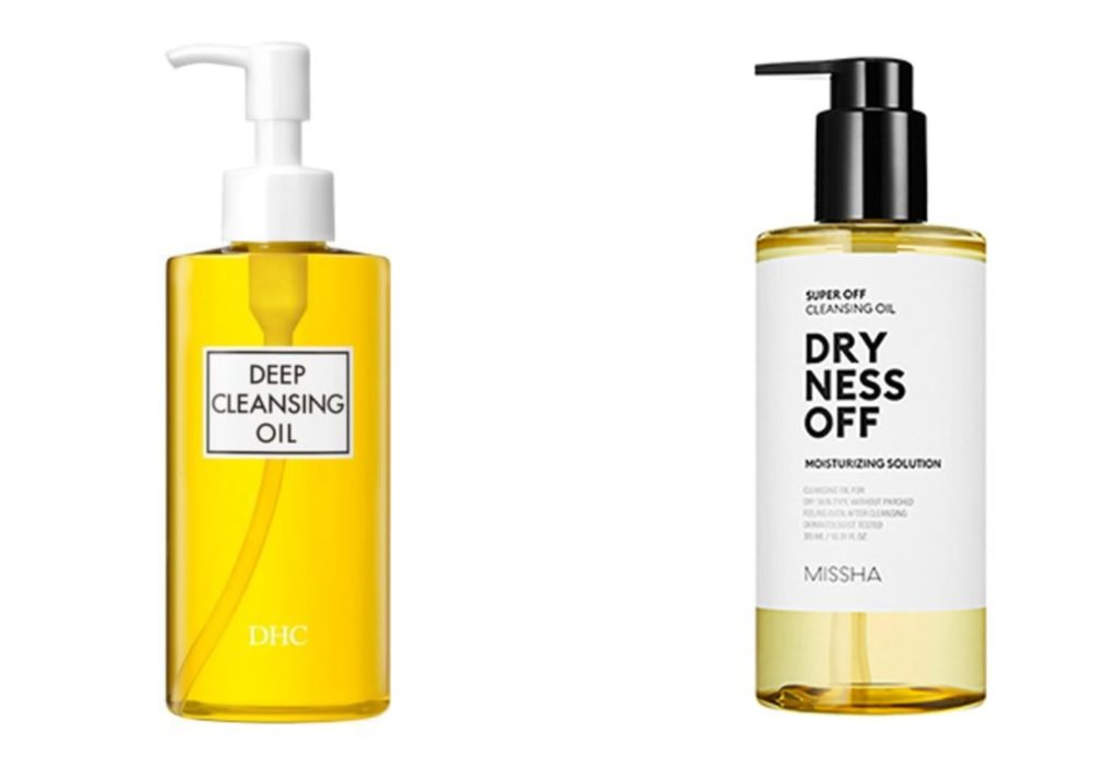 DHC Deep Cleansing Oil and Missha Dryness Off Cleansing Oil - K-beauty vs. J-beauty - Skincare