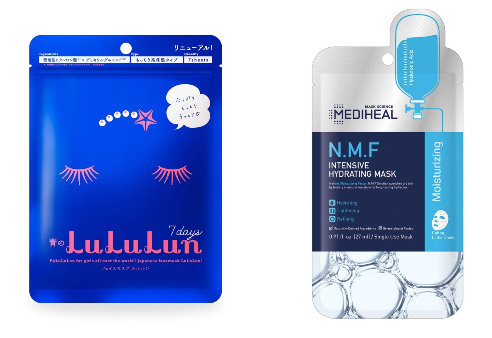 n.m.f intensive hydrating sheet mask