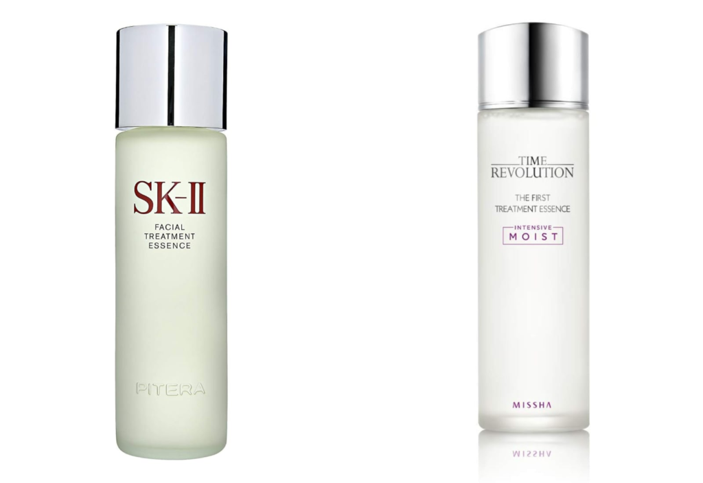 SK-II and Missha Time Revolution - K-beauty vs. J-beauty - Skincare