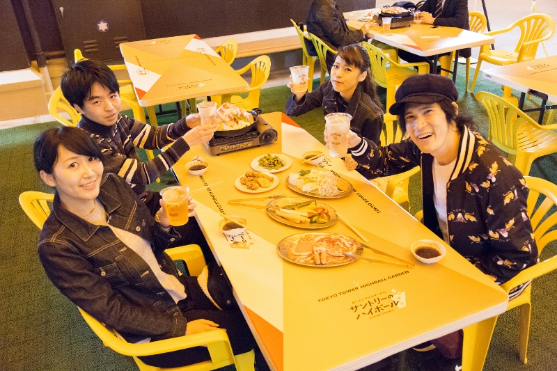 Tokyo Tower Highball Garden - Week(end) Events Sep 14-16