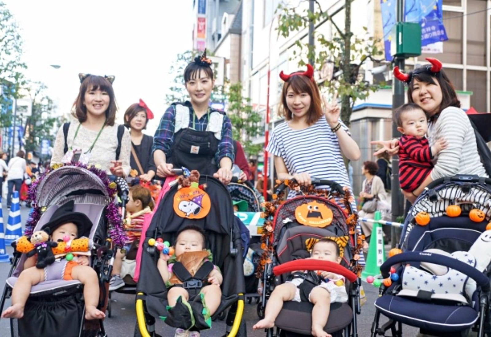 Kichijoji Halloween Festival 1