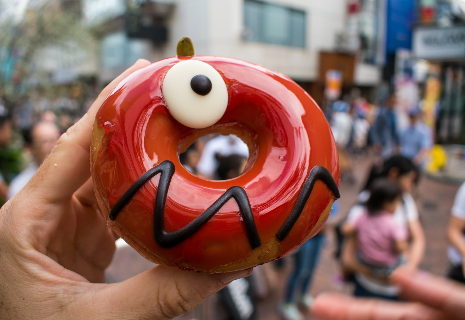 Krispy Kreme Apple Caramel Monster