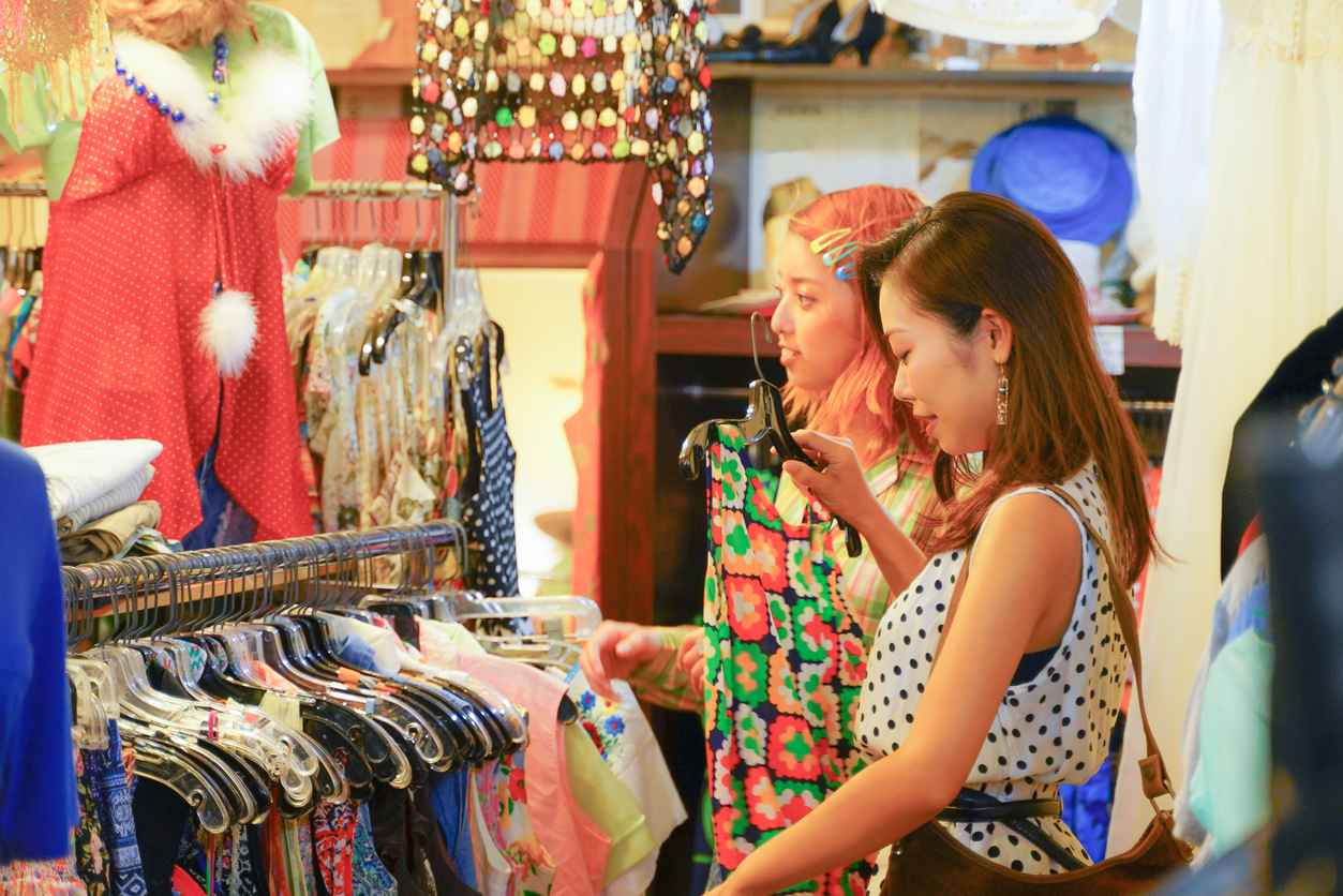 Secondhand Store - Starting Small - Tips for Creating a More Sustainable Lifestyle in Japan