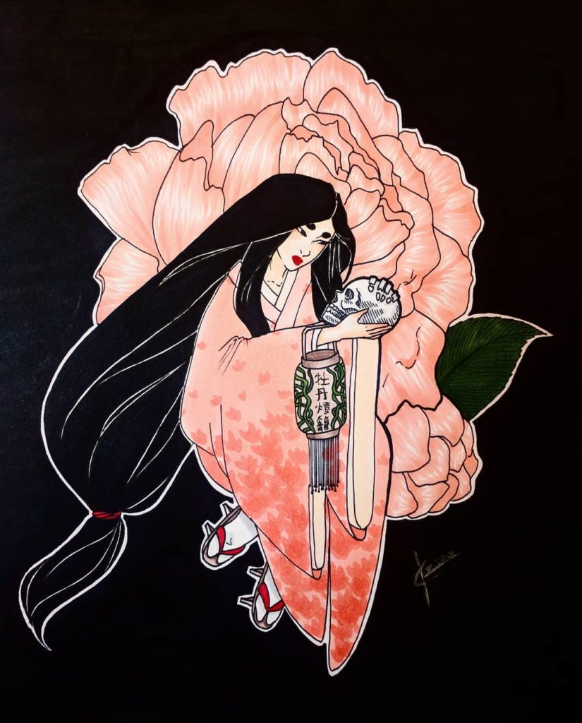 The Peony Lanter - Scary Stories: 7 Japanese Tales That Will Chill You To The Bone