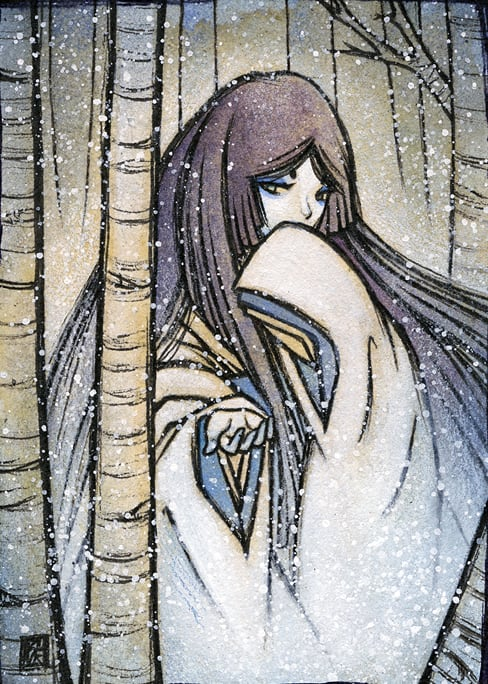 Yuki Onna - Scary Stories: 7 Japanese Tales That Will Chill You To The Bone