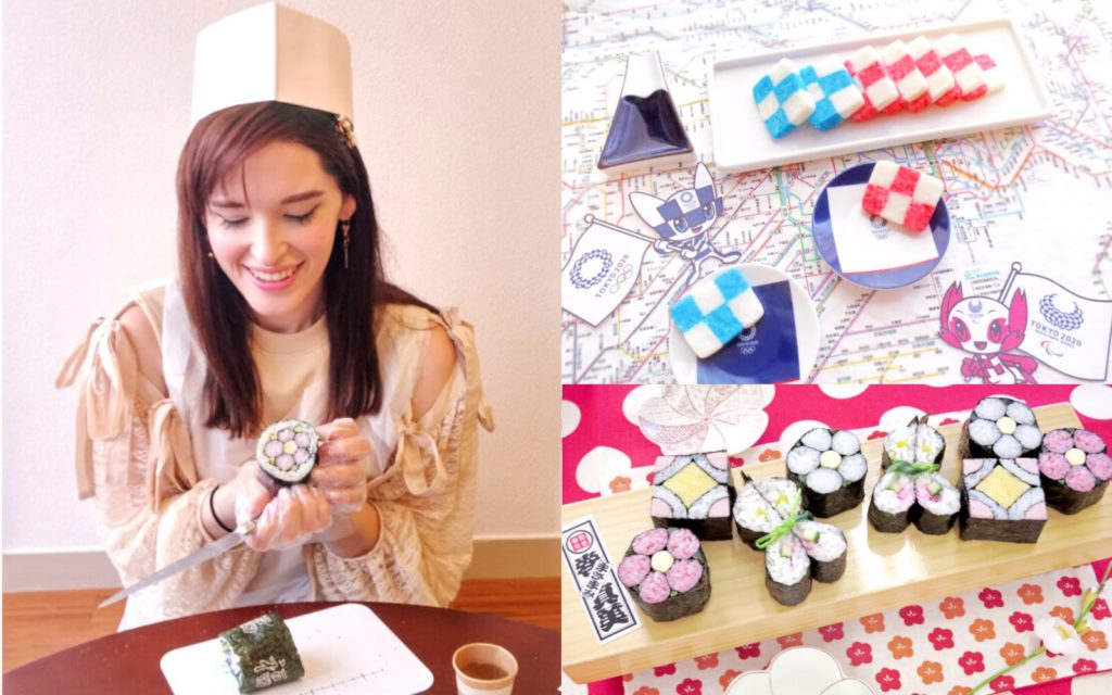 AirKitchen Art Sushi and Mochi Class Japanese cooking class Tokyo