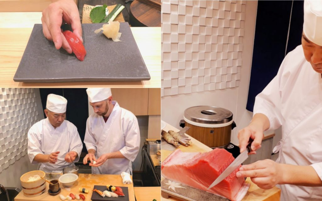 AirKitchen Sushi Class Cooking Classes in Tokyo