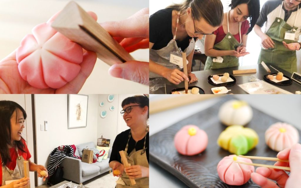 AirKitchen Wagashi Class Cooking Classes in Tokyo