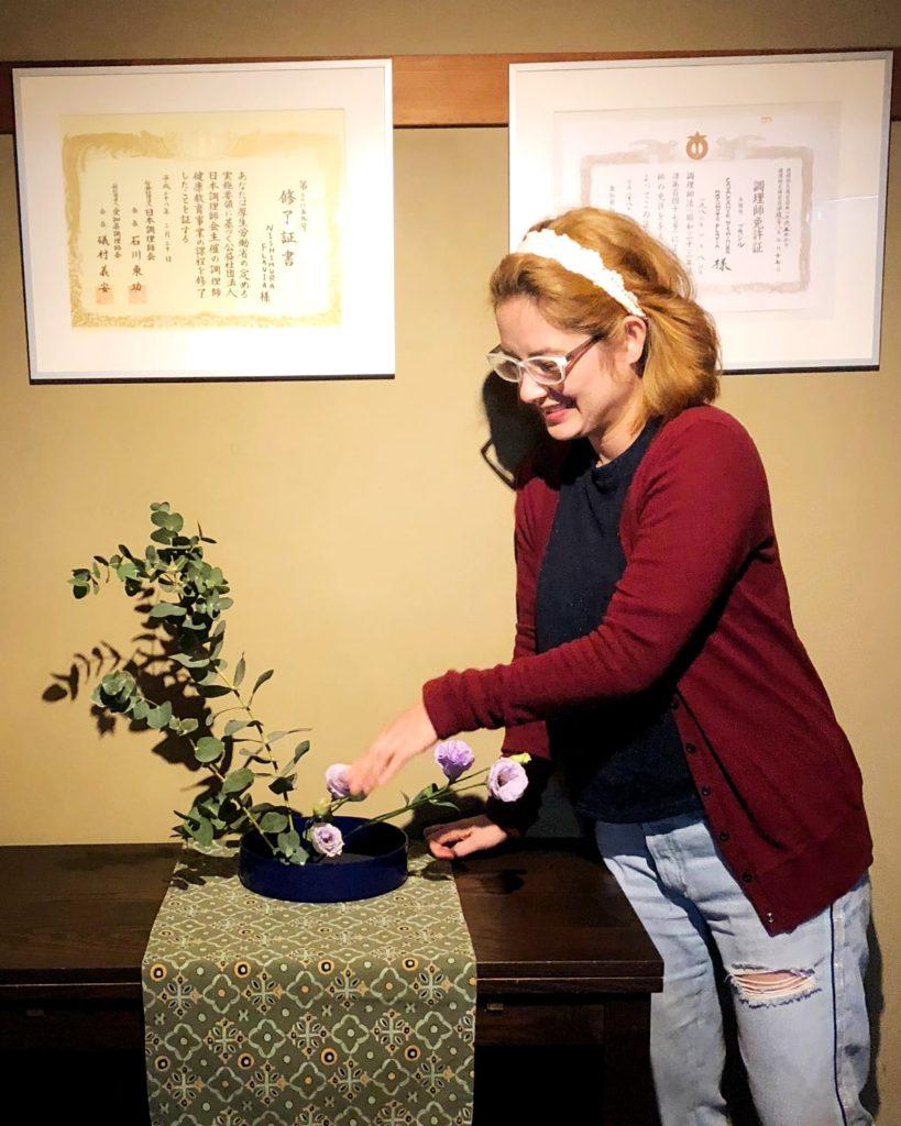 Flavia Nishimura - ikebana