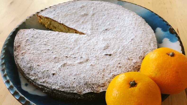 Mikan cake