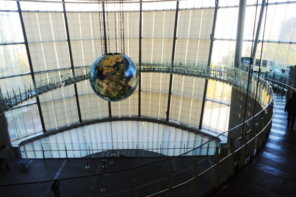 Top 5 Tokyo Exhibitions and Museums with a Futuristic Theme Miraikan globe