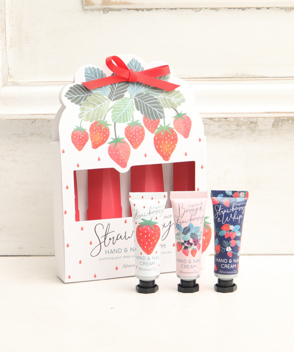 Afternoon Tea Living- strawberry hand cream set