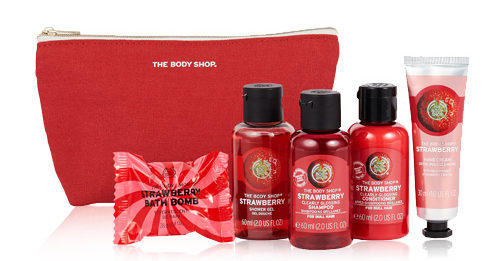 The Body Shop- strawberry 2020 lucky pouch