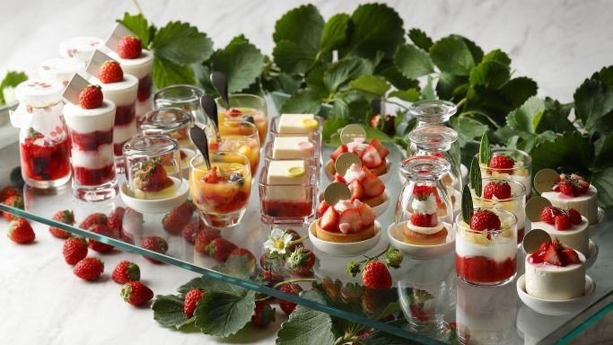 The Westin Tokyo- a strawberry affair