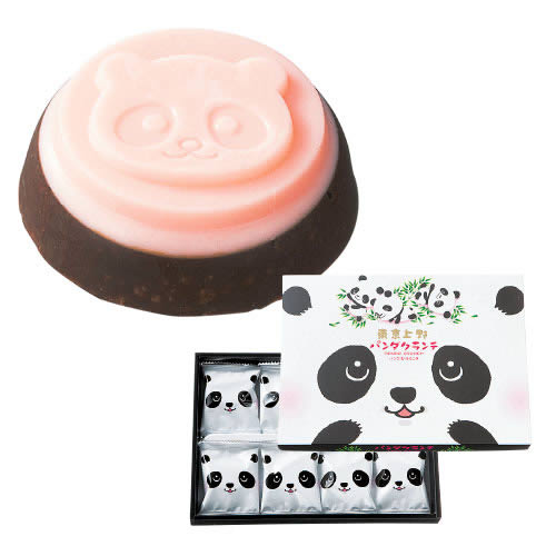 Ueno Panda Crunch Chocolates