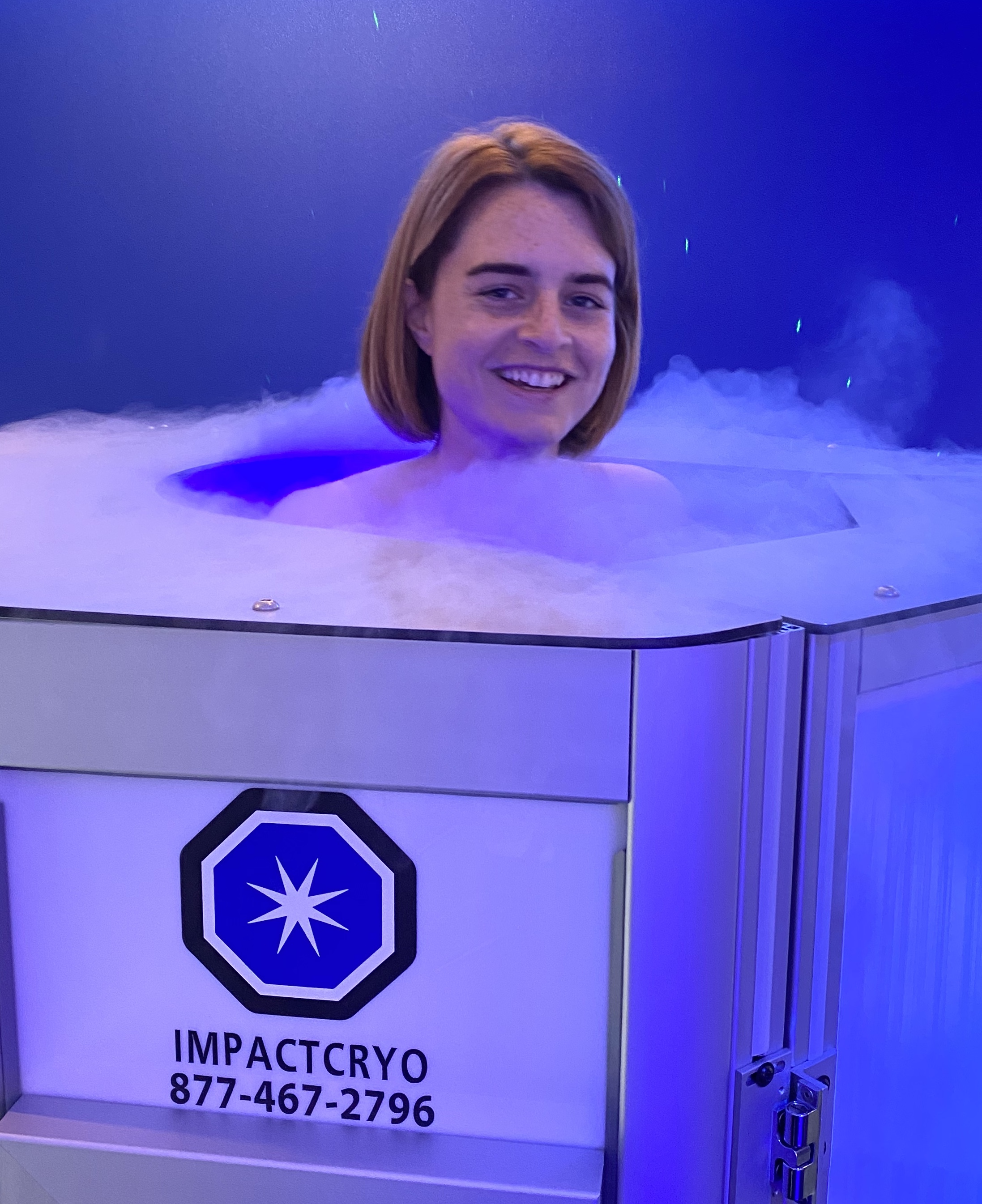 Cryo Tokyo Cool Recovery Machine in Action