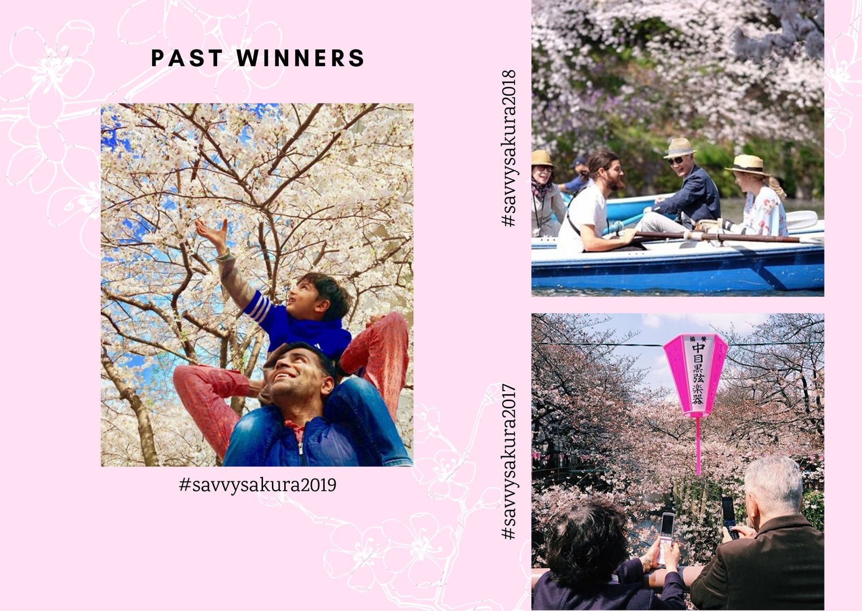 Sakura past winners