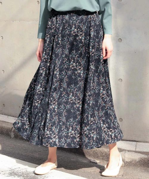 Top 5 Spring Fashion Trends In Tokyo 2020 Long Floral Skirts