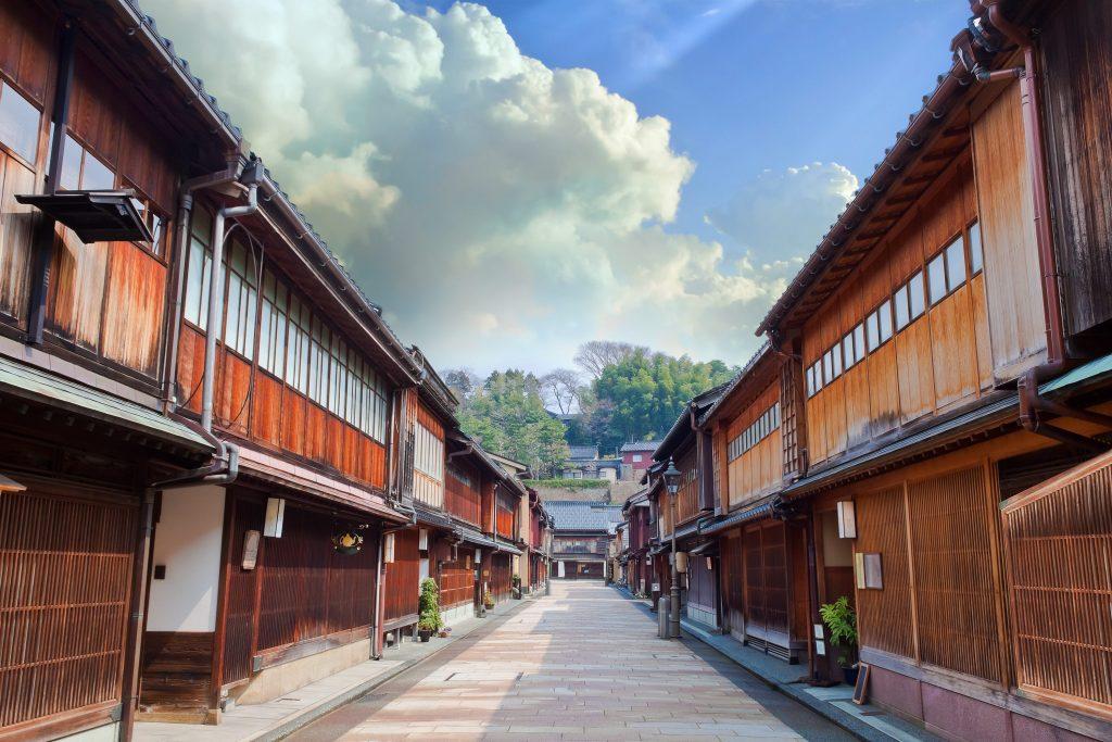 Kanazawa-teahouse
