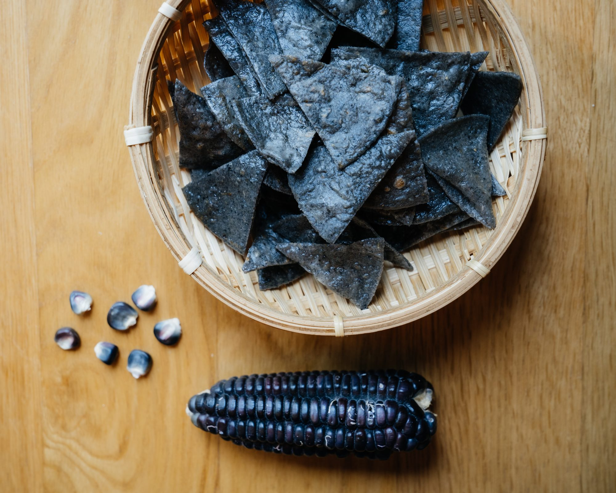 Los Tacos Azules Get Your Taco Survival Kit In Tokyo: A Discussion with Chef Marco Blue Corn tortillas