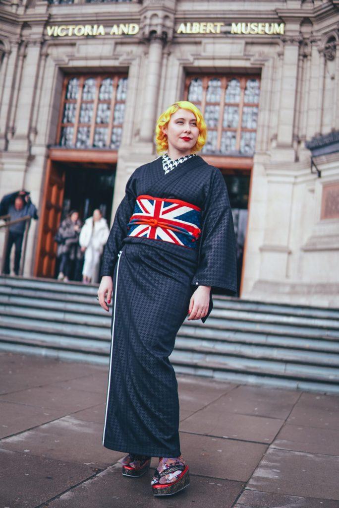 Anji SALZ Kimono - London VA museum