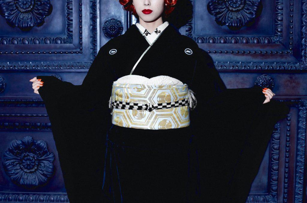 Anji SALZ design kimono
