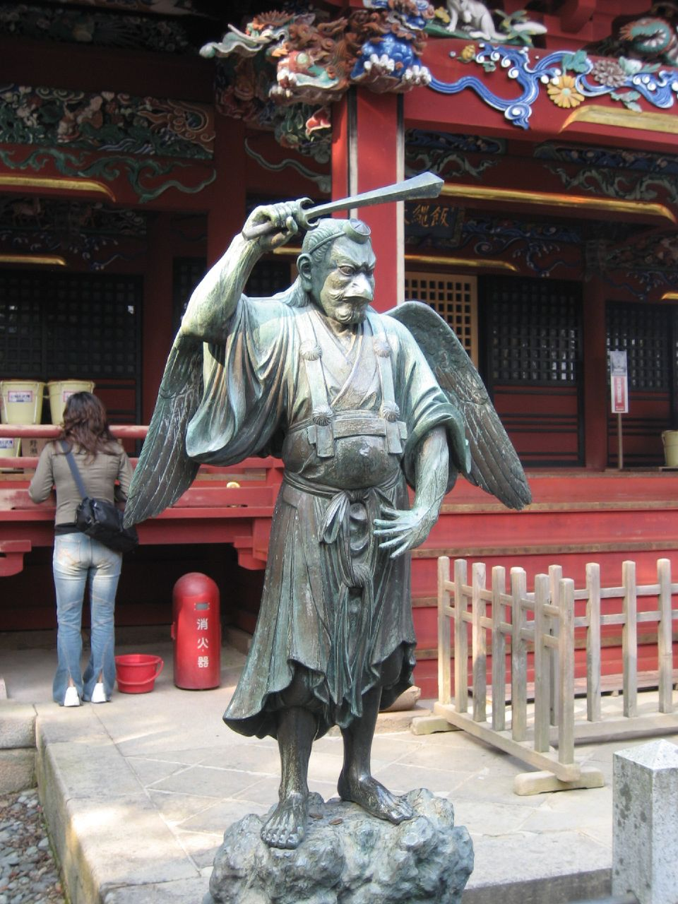 Power Spots The Japanese Way To Recharge Your Mind - Tengu statue at Yakuo-in on Mount Takao