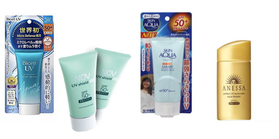 Survive summer in Japan: 5 Beauty Tips To Survive The Japanese Summer - UV sunscreen