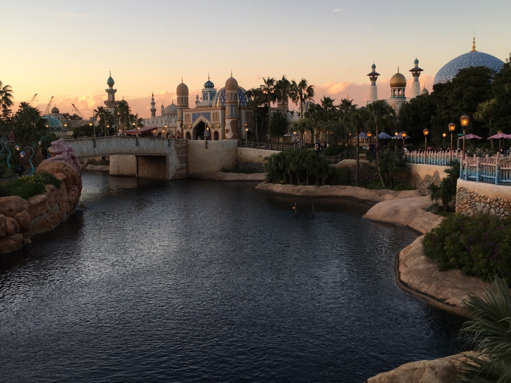 Sunset view of the Arabian Coast