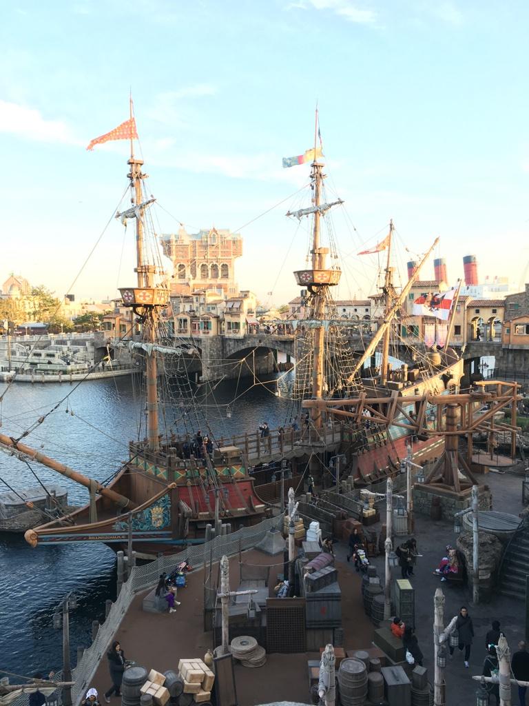 The Renaissance ship open for exploration