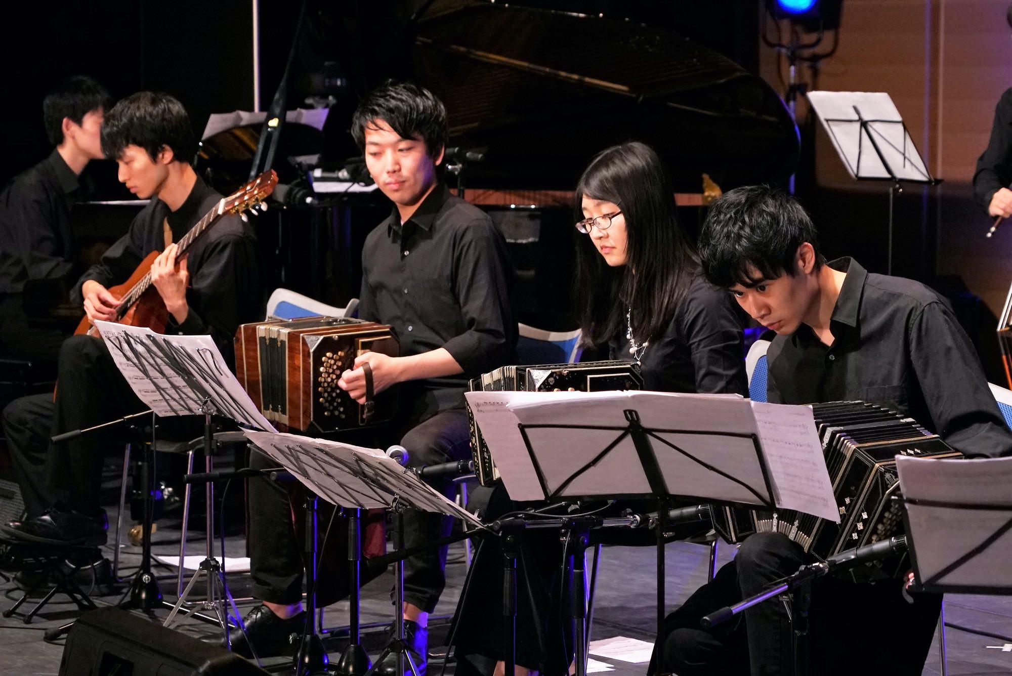 A Break From Argentine Tango in Japan - Yamato Kurebayashi - Orquestra de Tango Waseda