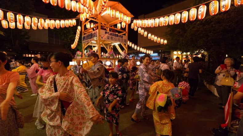 What is Obon? Obon dance in Tokyo