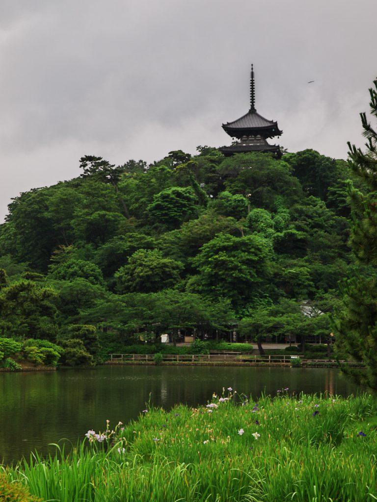 sankei garden pagoda