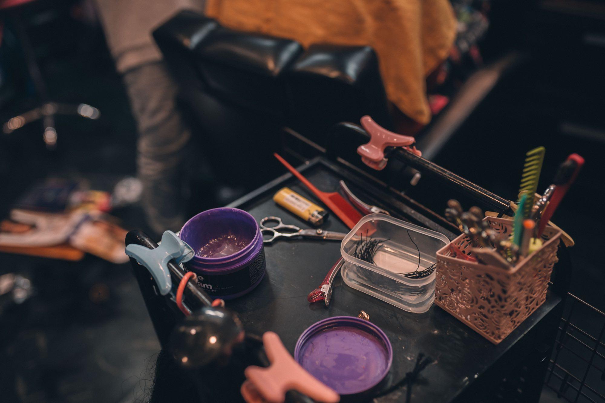 Emmy Najima's afro hair salon