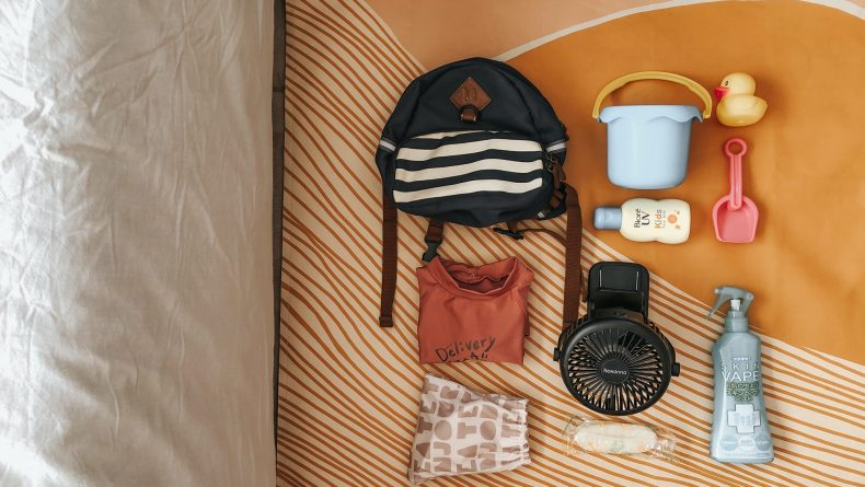 Essential items to bring when camping with a toddler
