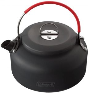 outdoor kettle is another essential for camping with a toddler