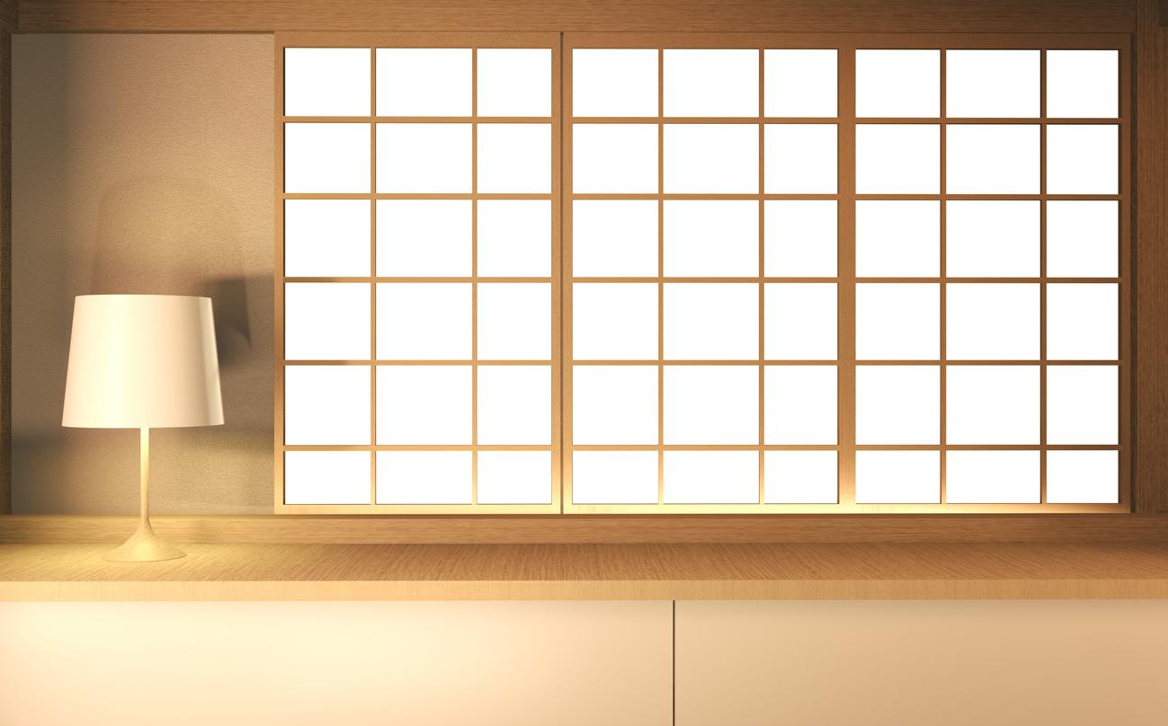 shouji in a tatami room