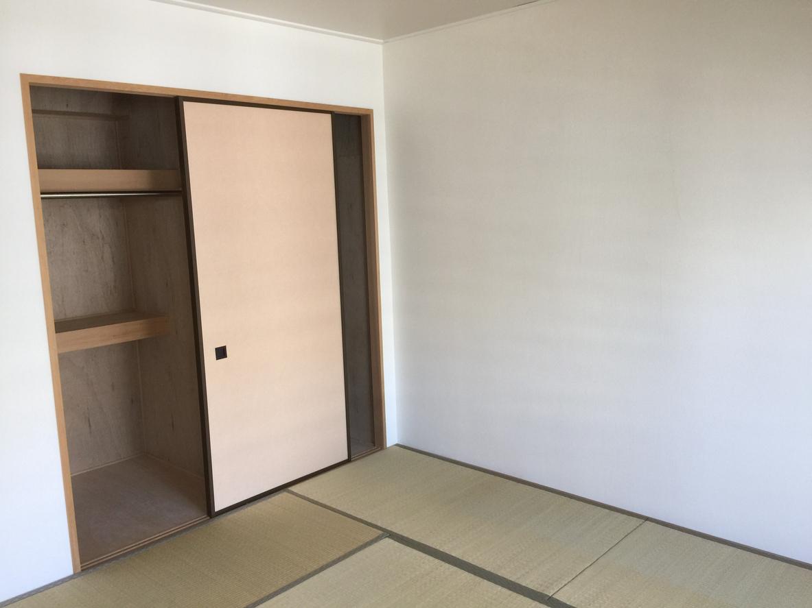 Japanese traditional tatami floor bedroom