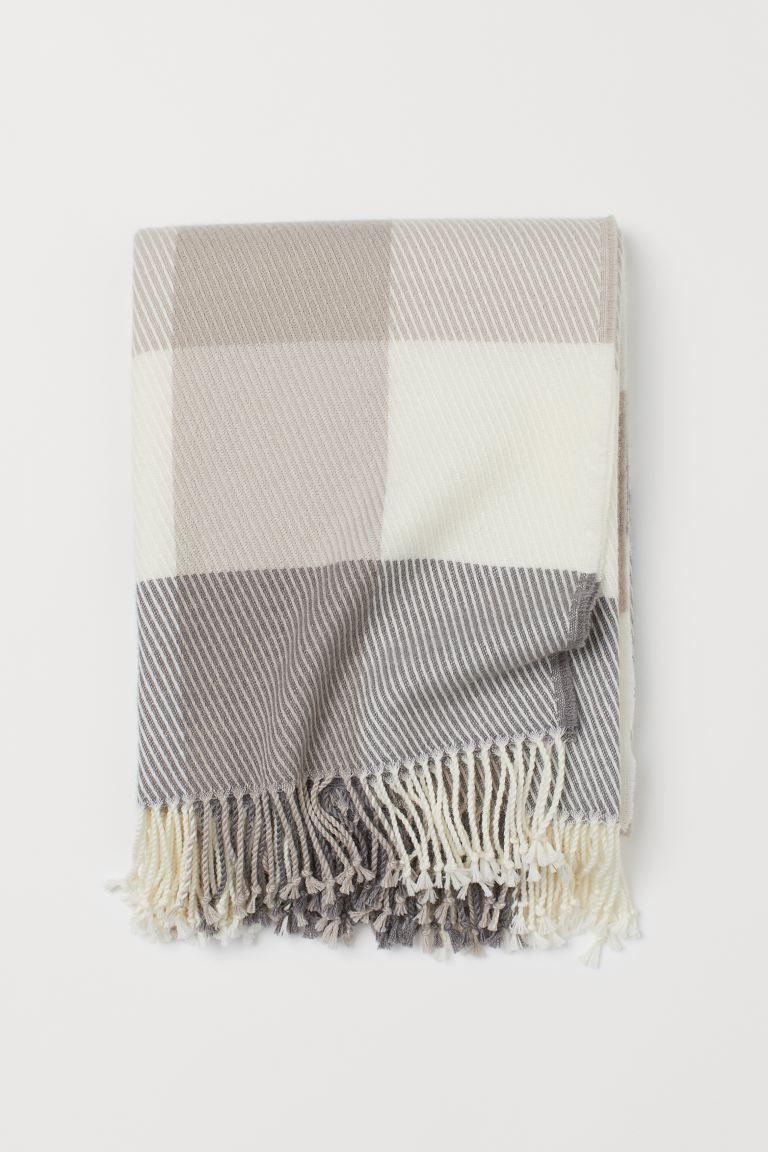 Wool-Blend Blanket