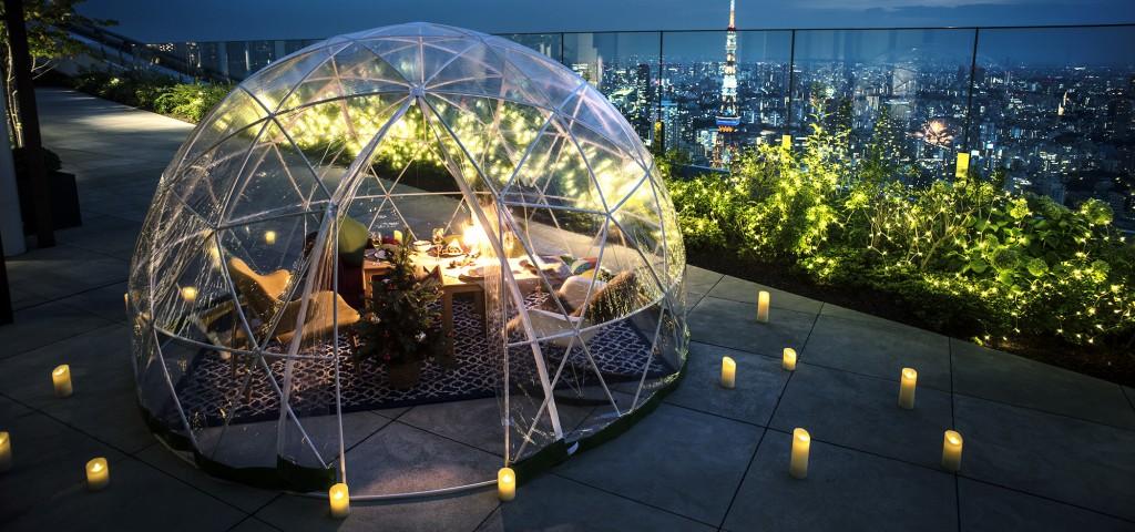 Andaz Tokyo's White Christmas Igloo