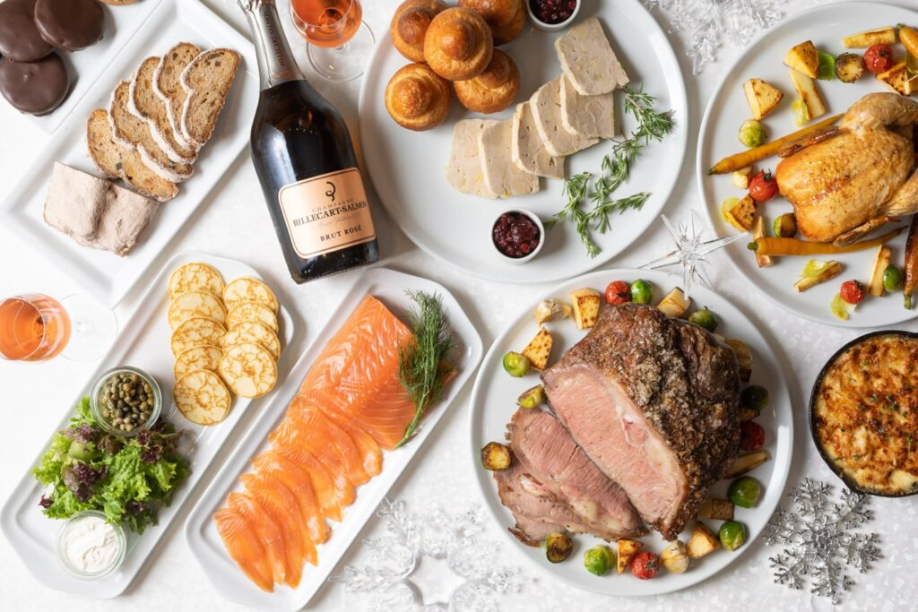 Grand Hyatt's Holiday Take Out Party Set