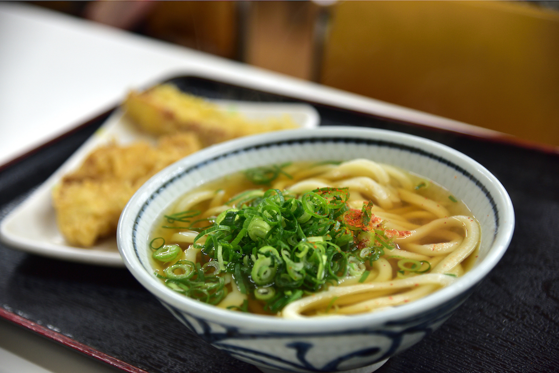 A local staple: Sanuki udon is Kagawa's soul food,