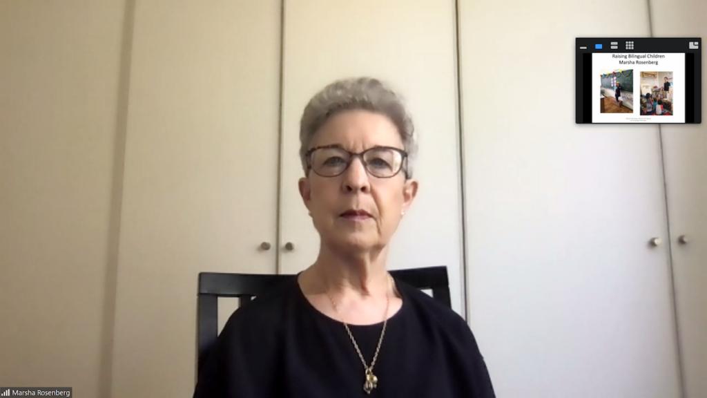 'Raising Bilingual Children' Workshop by Speech and Language Pathologist Marsha Rosenberg