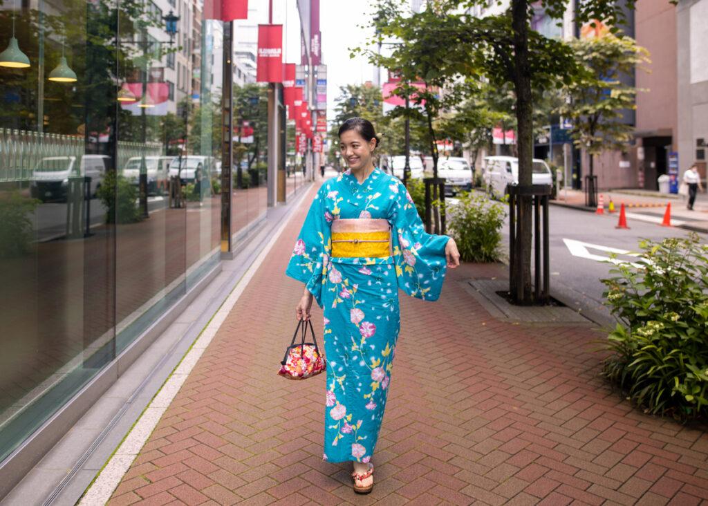 Preparing for Japan's Yukata Season